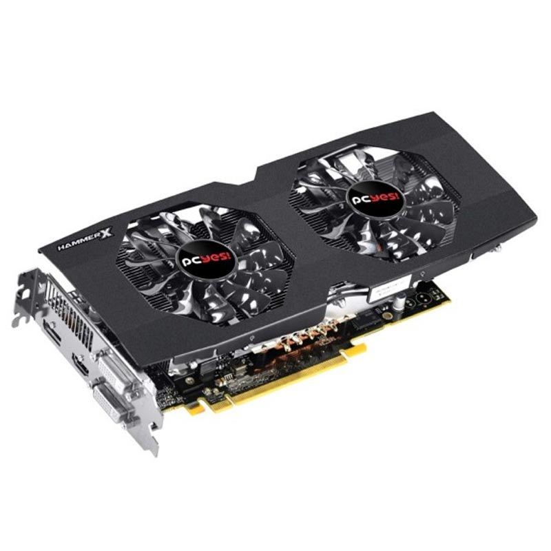 Placa de Video Pcyes AMD Radeon R9 380 Hammer X DUAL-FAN OC EDITION - 2GB, GDDR5 256 BITS - PH38025602D5OC
