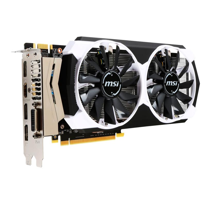 Placa de Video MSI NVIDIA GeForce GTX 960 OC - 4GB, 128 BITS GDDR5 - 960-4GD5T-OC