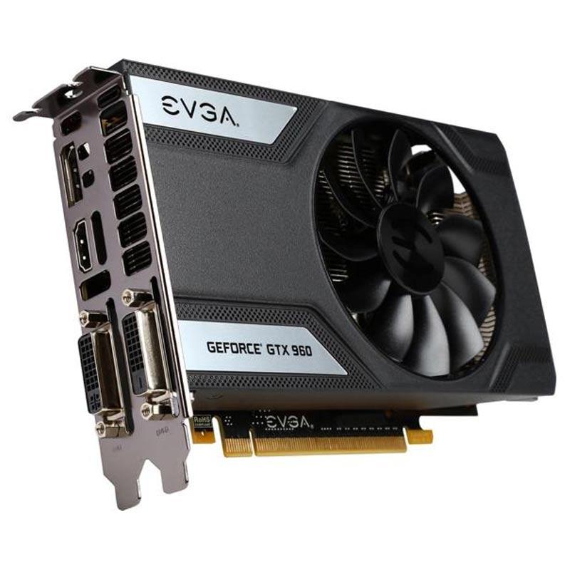 Placa de Video EVGA NVIDIA GeForce  GTX 960 SUPERCLOCKED -  4GB, 128 BITS GDDR5 - 04G-P4-3962-KR
