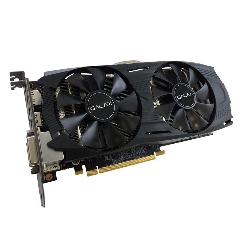 Placa de Video Galax VGA NVIDIA GeForce GTX1060 EX OC - 6GB,192 BITS GDDR5 - 60NRH7DVM6EC *