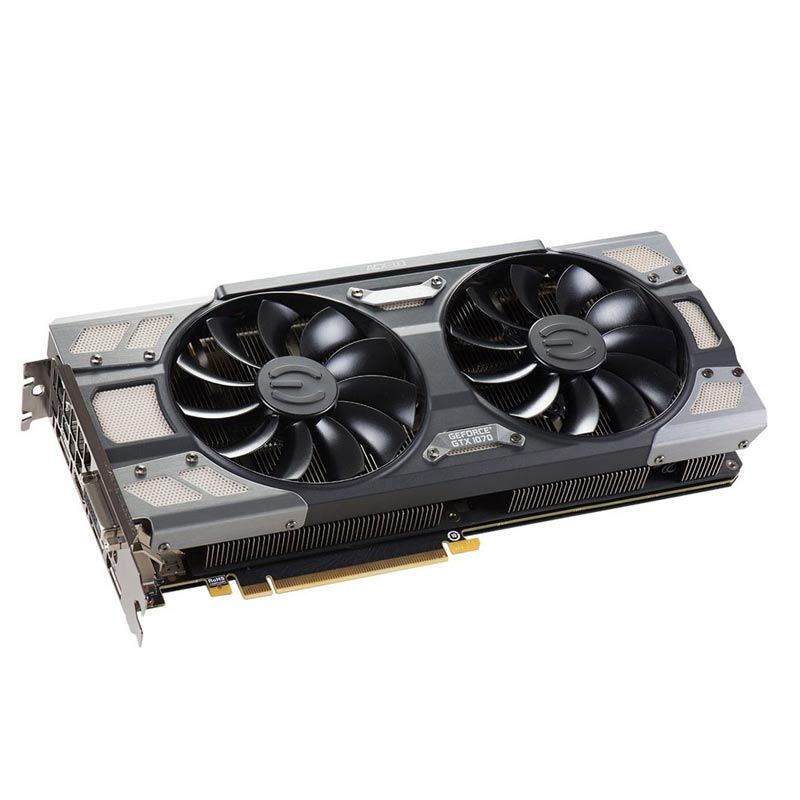 Placa de Video EVGA NVIDIA GeForce GTX1070 DT - GAMING ACX 3.0, 8GB, DDR5 256 BITS - 08G-P4-6274-KR