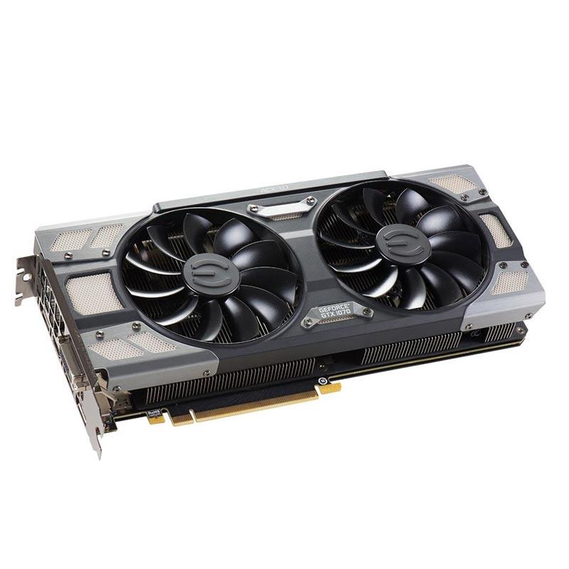 Placa de Video EVGA NVIDIA GeForce GTX1070 - GAMING ACX 3.0, Base Clock 1797 MHz, 8GB, DDR5 256 BITS -  08G-P4-6276-KR *