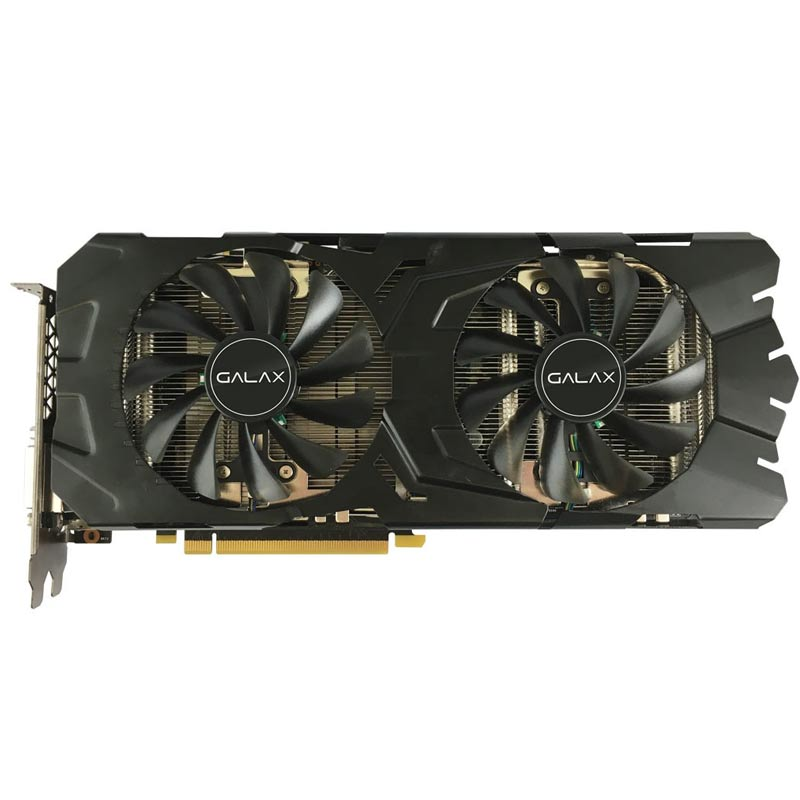 Placa de Video Galax VGA NVIDIA GeForce  GTX1080  EX OC - 8GB, 256 BITS GDDR5 - 80NSJ6DHL4EC *