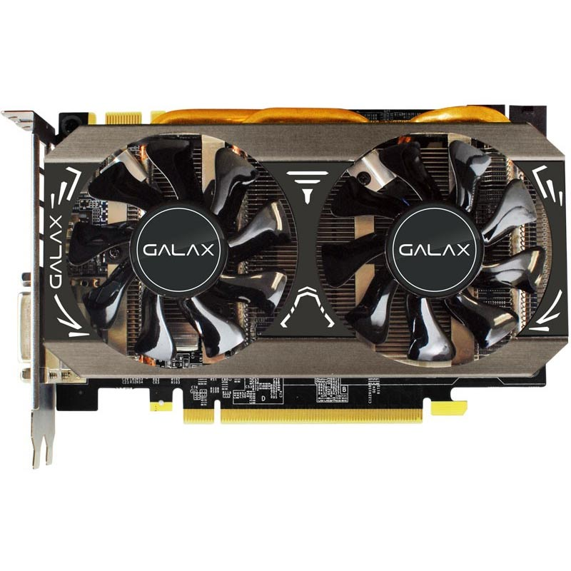 Placa de Video Galax VGA NVIDIA GeForce  GTX970 OC - Compatível 4k, 4GB, 256 BITS GDDR5 -  97NPH6DT8RVZ