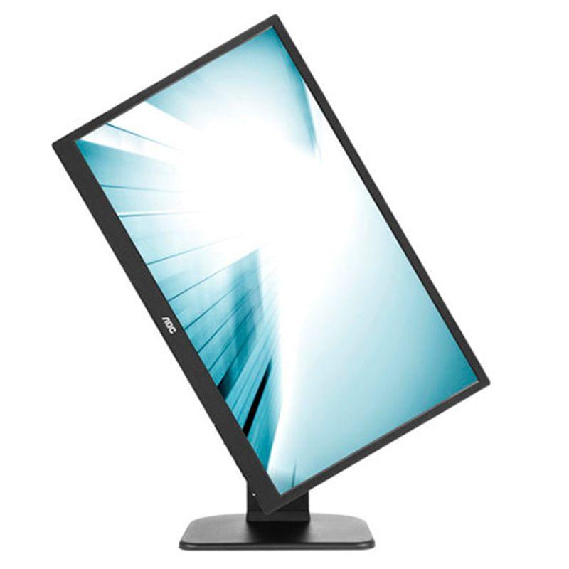 """Monitor 18,5"""" AOC - LED, Ajuste de Rotação e Altura - E970PW *"""
