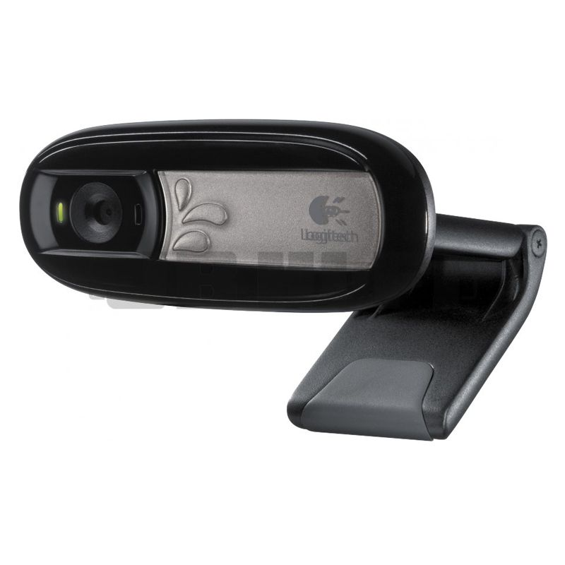 Webcam Logitech -  Microfone Embutido, USB 2.0 - C170 *