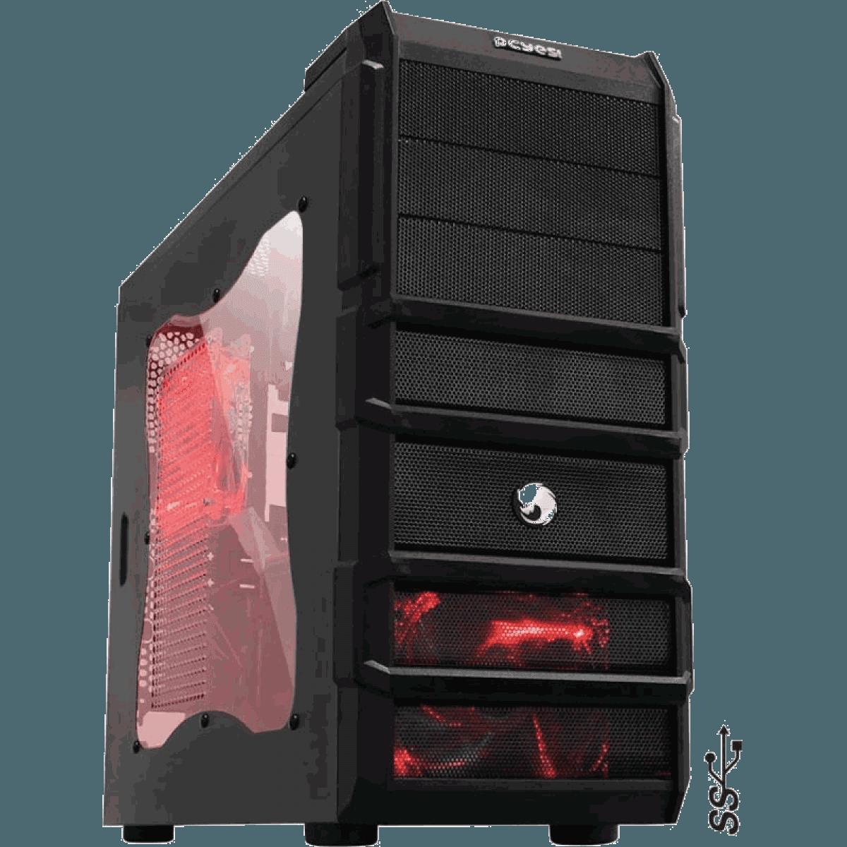 Computador Gamer - Intel Core i5-6400 6° Geração, 8GB Hyper-X DDR4, Placa Mae H110M, HD de 1TB, Placa de Vídeo GTX1060 3GB, Fonte 500W Real *