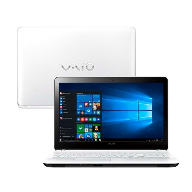 Notebook VAIO FIT 15F - Intel Core i7-5500 , 8GB de Memória, HD de 1TB, Leitor de DVD/CD, Tela LED de 15.6