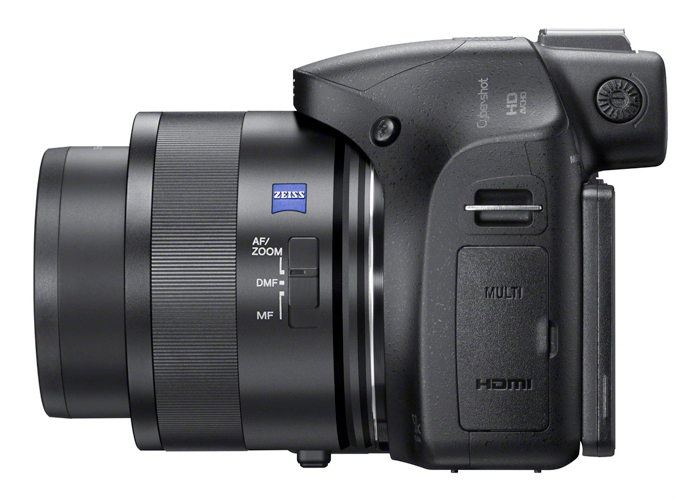 Câmera Digital Sony Cybershot DSC HX400v - Sensor CMOS de 20.4MP, Zoom Óptico 50x , AVCHD, Full HD, Wi-Fi, GPS, Tela de 3