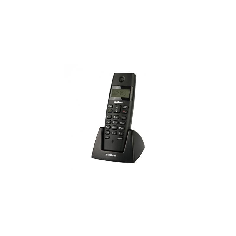 Ramal Intelbrás - Sem Fio, Digital, Bases Compatíveis TS 40 ID, TS 60 V, TS 3110 ou TS 3130 - TS 40R Preto *