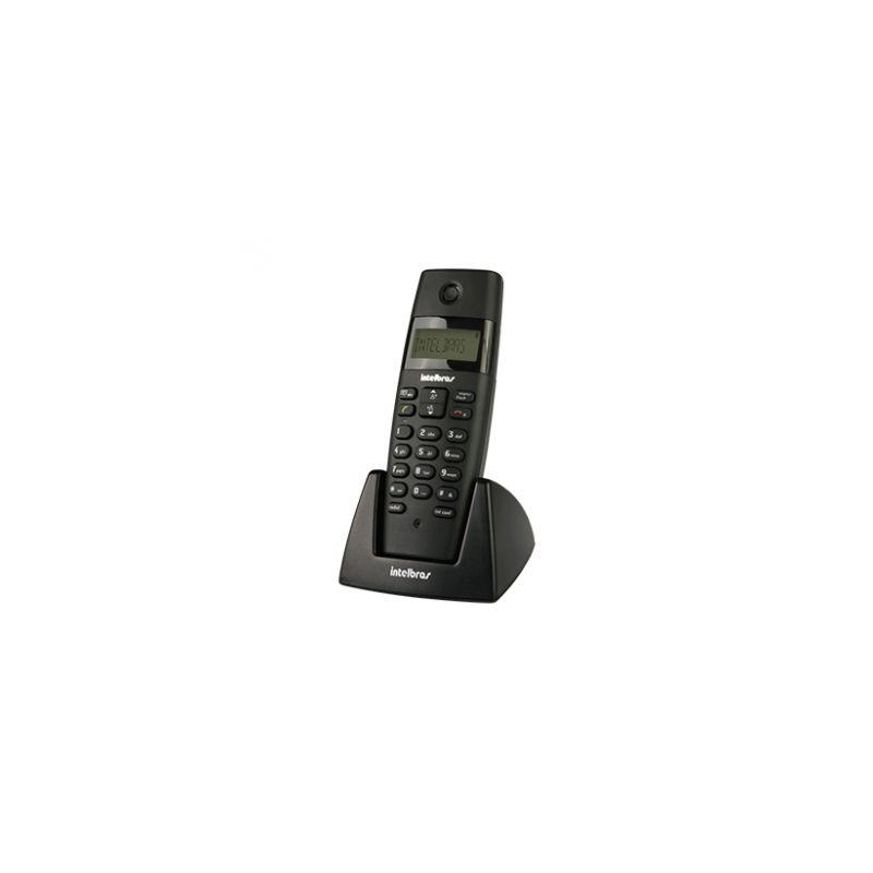 Ramal Intelbrás - Sem Fio, Digital, Bases Compatíveis TS 40 ID, TS 60 V, TS 3110 ou TS 3130 - TS 40R Preto