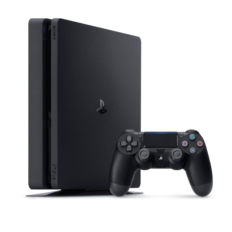 Console Playstation 4 Slim + Jogo FIFA 17 - HD 500GB, Processador Octa-Core, Controle Dualshock 4 - PS4, CUH-2015A *