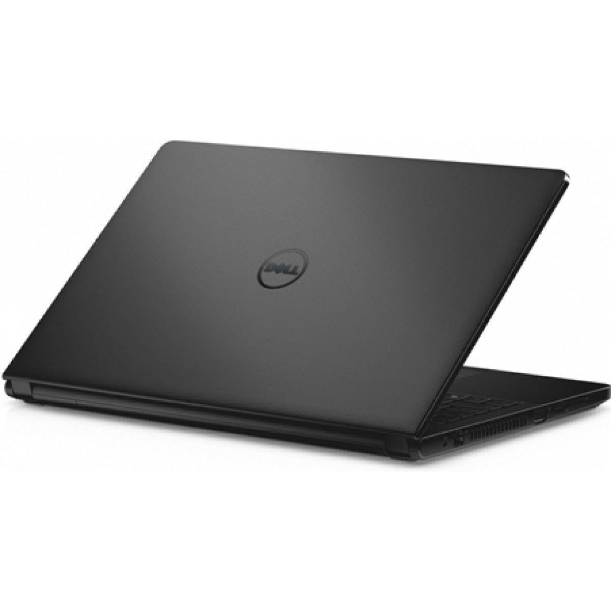 """Notebook Dell Intel Core I5-5200U, 8GB de Memória, HD de 1TB, Leitor de DVD, Tela LED de 15.6"""" Touchscreen Windows 10 - I3558-5501BLK *"""