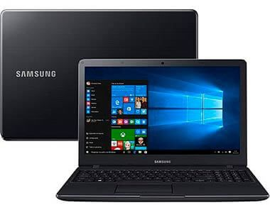 "Notebook Samsung Essentials E34 NP300E5K-KF1BR Intel Core i3, 4GB de Memória, HD de 1TB, Bluetooth, HDMI, Tela LED de 15.6"" Full HD Windows 10 *"