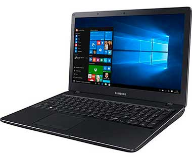 Notebook Samsung Essentials E34 NP300E5K-KF1BR Intel Core i3, 4GB de Memória, HD de 1TB, Bluetooth, HDMI, Tela LED de 15.6