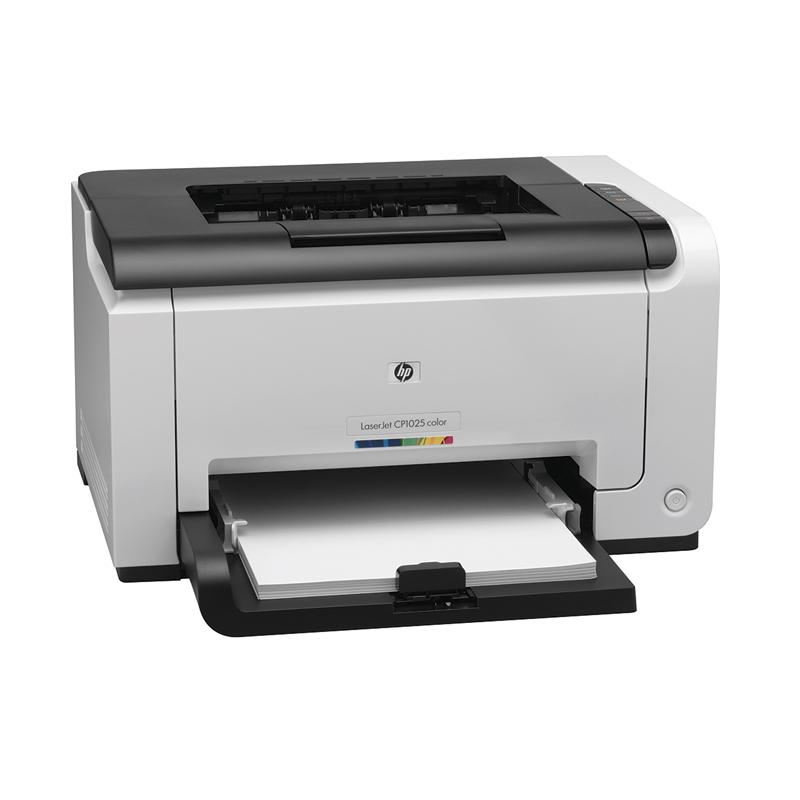 Impressora HP LaserJet Pro Color  CP1025 - Laser, WiFi, 600Dpi