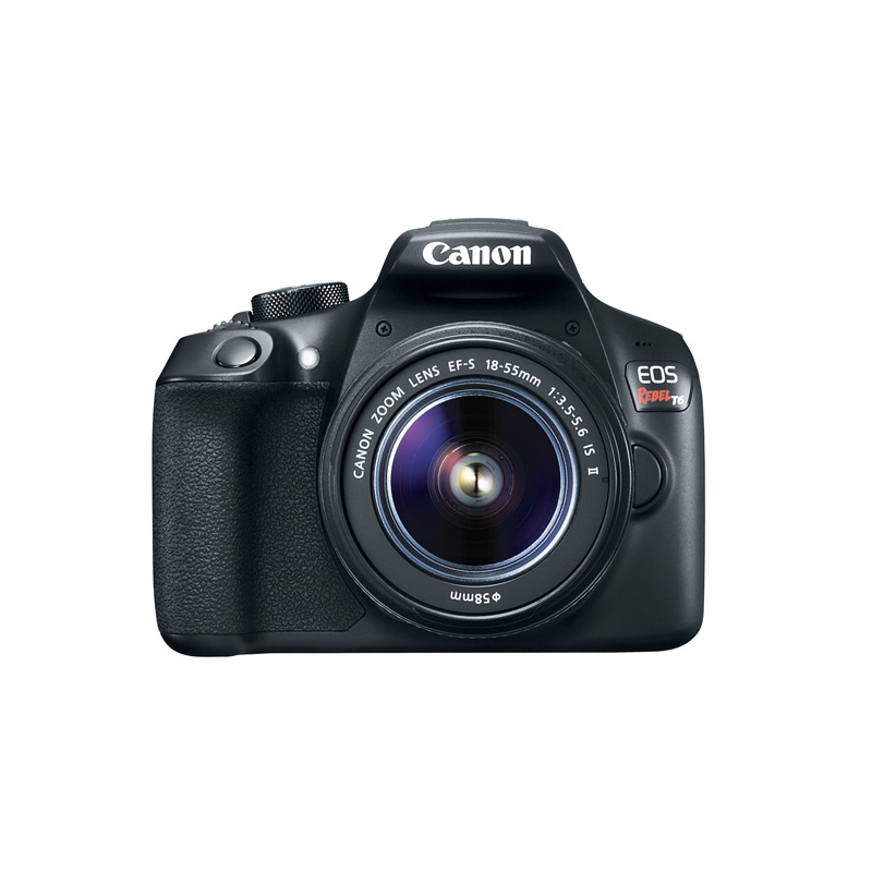 Câmera Rebel T6 + Lente 18-55mm - 18.0MP, Sensor CMOS DIGIC +4, Vídeo Full HD, Wifi, ISO 100 - 6,400, Tela LCD  3