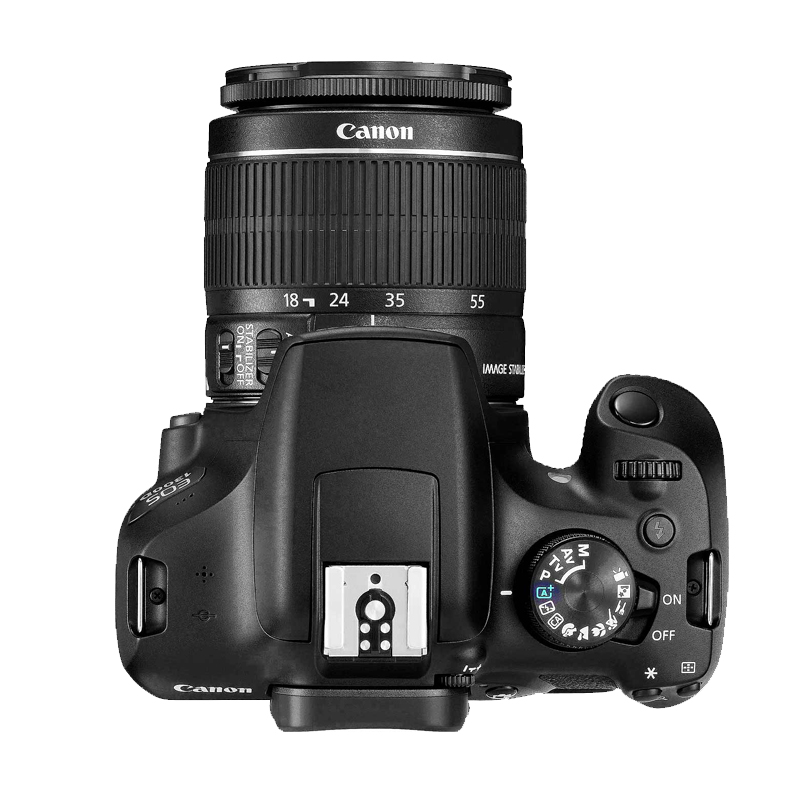 Câmera Rebel T6 + Lente 18-55mm - 18.0MP, Sensor CMOS DIGIC +4, Vídeo Full HD, Wifi, ISO 100 - 6,400, Tela LCD  3""