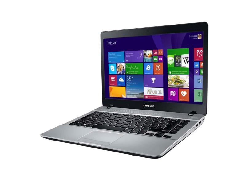 """Notebook Samsung Essentials NP370E4J - Intel Dual Core , 4GB de Memória, HD de 500GB, Bluetooth, HDMI, Tela LED de 14"""" Windows 10 (showroom)"""