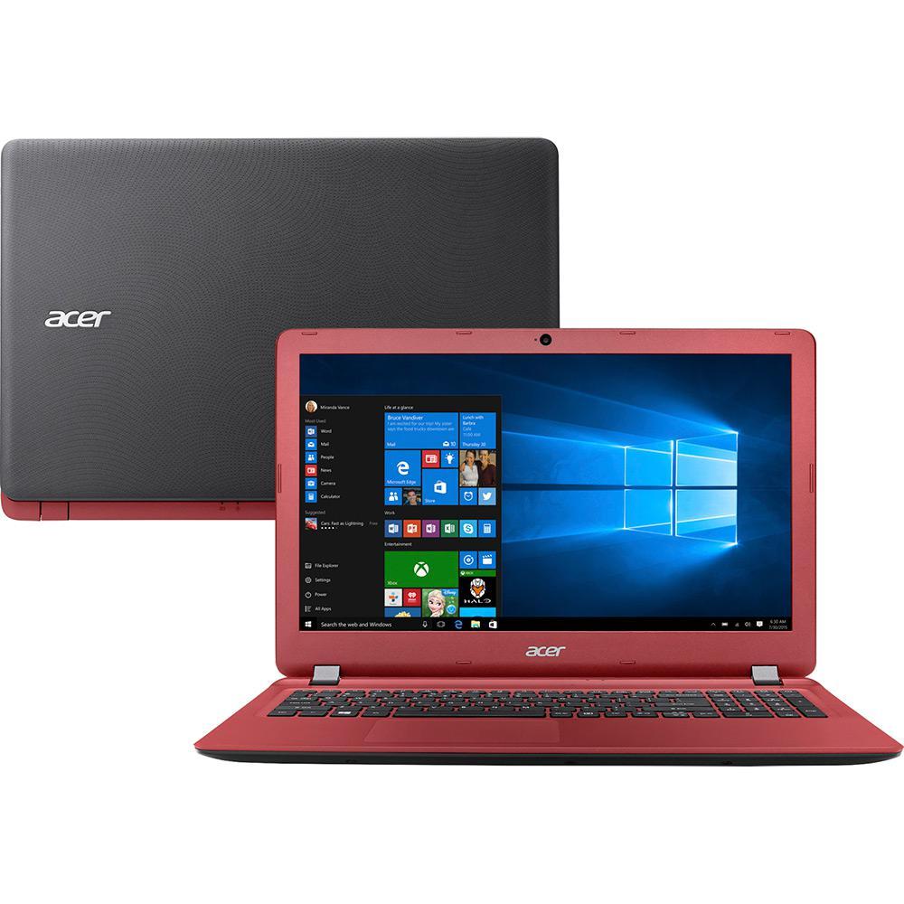 """Notebook Acer Aspire ES1-572 com Intel Core i5 de 6ª Geração, 4GB de Memória, HD de 1TB, Leitor de Cartões, HDMI, Tela LED de 15.6""""  *"""