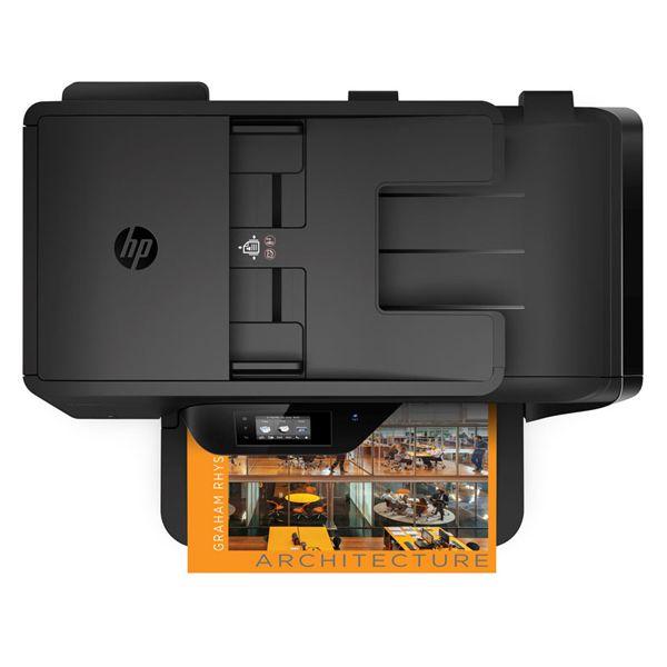 Impressora Multifuncional HP -  Jato de Tinta, Duplex, Copiadora, Digitalizadora, Fax, WiFi, Scanner, 33PPM - 7510 *