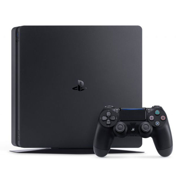 Console Playstation 4 Slim - HD 500GB, Controle Dualshock 4, chip 8 núcleos, 8GB - PS4 Slim