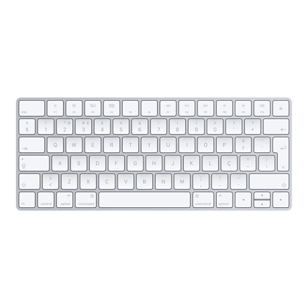 APPLE Teclado Magic - Bluetooth, Conetor Lightning, Ligações sem fios - MLA22 *