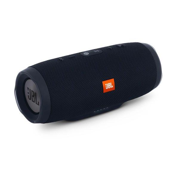 Caixa de Som JBL Charge 3 - Portátil, Prova dàgua, Bluetooth - Preto *