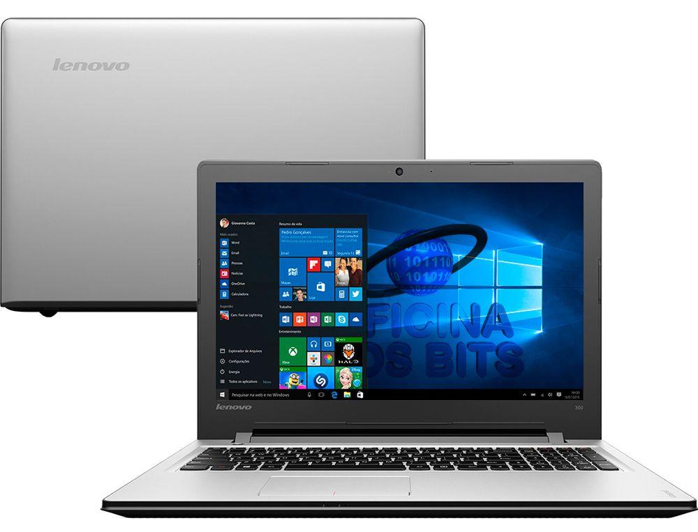 """Notebook Lenovo Ideapad Intel Core  i5-6200U, 4GB de Memória, HD de 1TB, Tela LED de 15.6"""", Windows 10"""