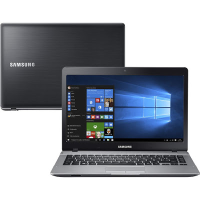 Notebook Samsung Essentials E31 NP370E4K - Intel Core i3 , 4GB de Memória, HD de 1TB, Bluetooth, HDMI, Tela LED de 14