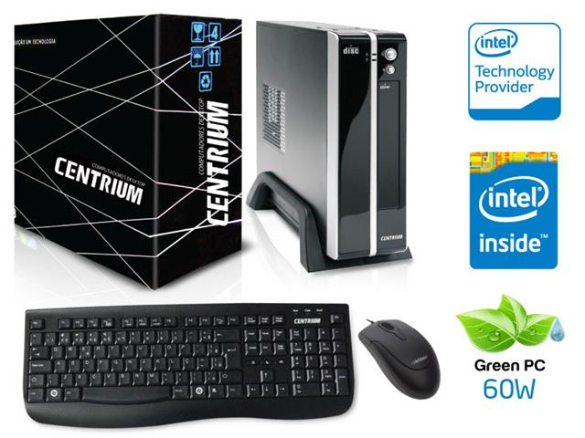 Computador ULTRATOP (MINI PC)  Intel  INTEL DUAL CORE J3060 1.6GHZ , Memória de 4GB, HD 500GB, Gabinete *