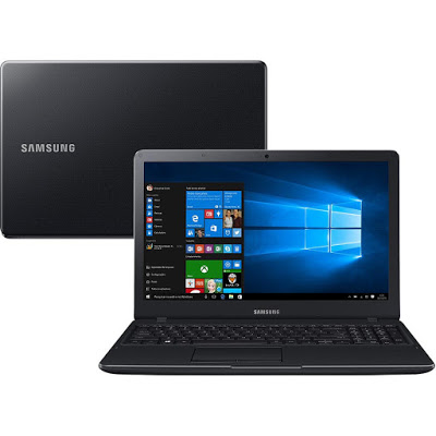 Notebook Samsung Expert X19 NP300  Intel Core i5 5200, 8GB de Memória, HD de 500GB, Placa de Video Intel Graphics, HDMI, Teclado numérico, Windows 10, Tela LED de 15.6