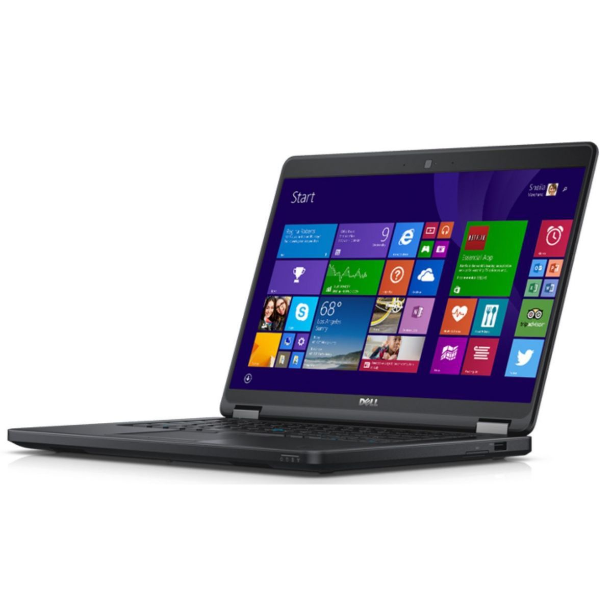 "Notebook DELL Latitude Ultrabook E5450 - Intel Core i5 VPro , 8GB de Memória, HD de 1TB, Wireless AC, Bluetooth, Tela LED  de 14""  Windows 10 Pro"