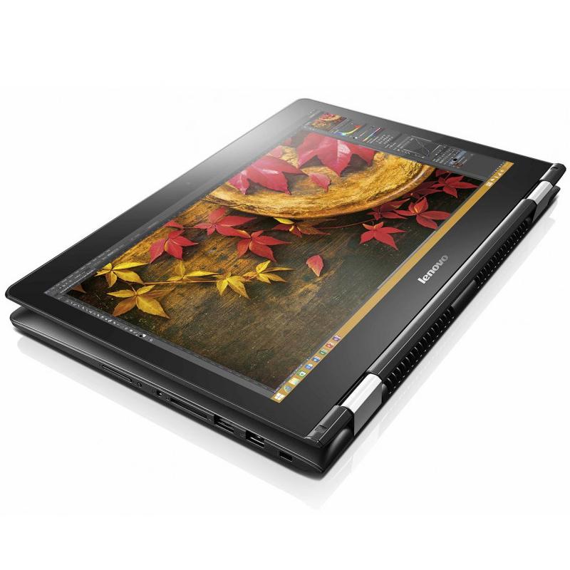 """Ultrabook 2 em 1 Lenovo Flex 3 com Intel Core i7 de 6ª Geração, 8GB de Memória, Placa de Vídeo GeForce de 2GB, HD de 1TB, Tela Full HD Touchscreen de 14"""", Windows 10"""