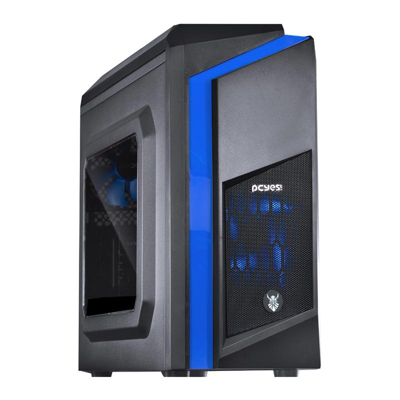 Computador Gamer - Intel Core i5-6400 6° Geração, 8GB DDR4, Placa Mae H110M, HD de 1TB, Placa de Vídeo  RX460 2GB, Fonte 500W Real *