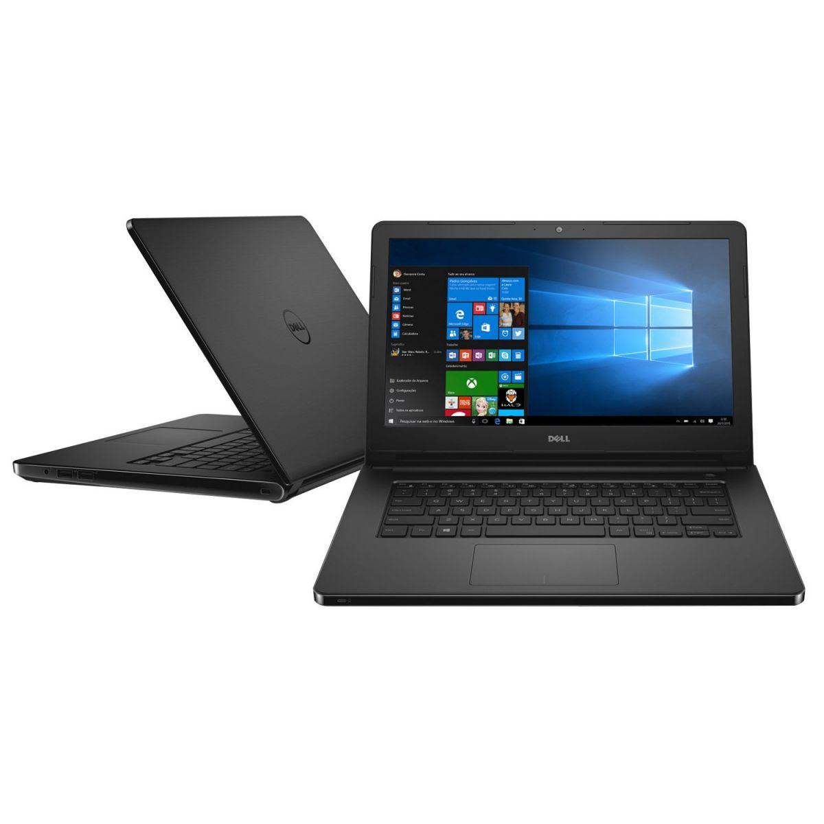 Notebook Dell Inspiron 14-5458 - Intel Core i3, 4GB de Memória, HD de 1TB, Windows 10, Tela LED de 14 (showroom) *