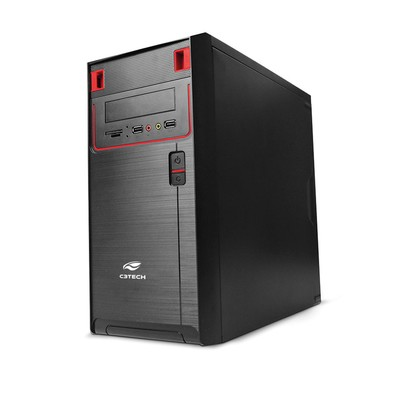 Computador Office Standard Dual Core G4400 3.3GHz - Memória de 4GB DDR4, HD 500GB, Gabinete ATX *