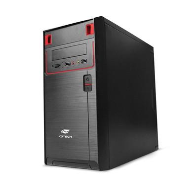 Computador Intel Pentium Dual Core G4400 3.3GHz - Memória de 4GB DDR4, HD 500GB, Gabinete ATX *