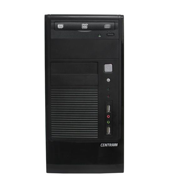 Servidor Torre Intel Centrium Intel Xeon Quad Core 1220V3 4 Geração, 8GB de memória, HD de 500GB, Leitor DVDRW -SC-T1200 *