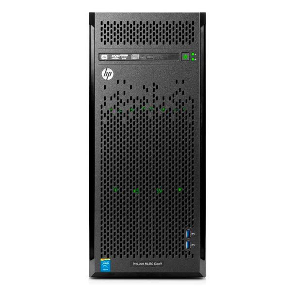 Servidor HP Gen9 Intel Core Quad Core Xeon E5-1603v3 6 Geração, 8GB de Memória, HD de 1TB - ML110 *
