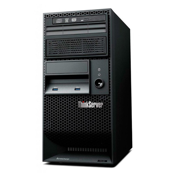 Servidor Lenovo THINKSERVER Intel Core Xeon E3-1225 V5 5 Geração , 8GB de Memória, HD de 1TB, Freedos - TS150 *