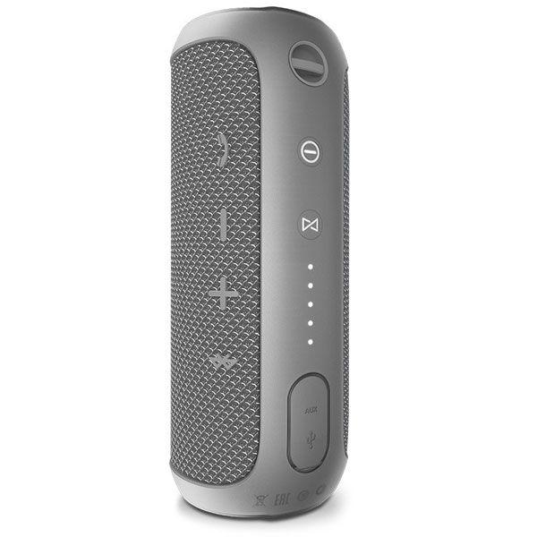 Caixa de Som JBL Flip 3 - Duração de 3h, Bluetooth - Cinza *