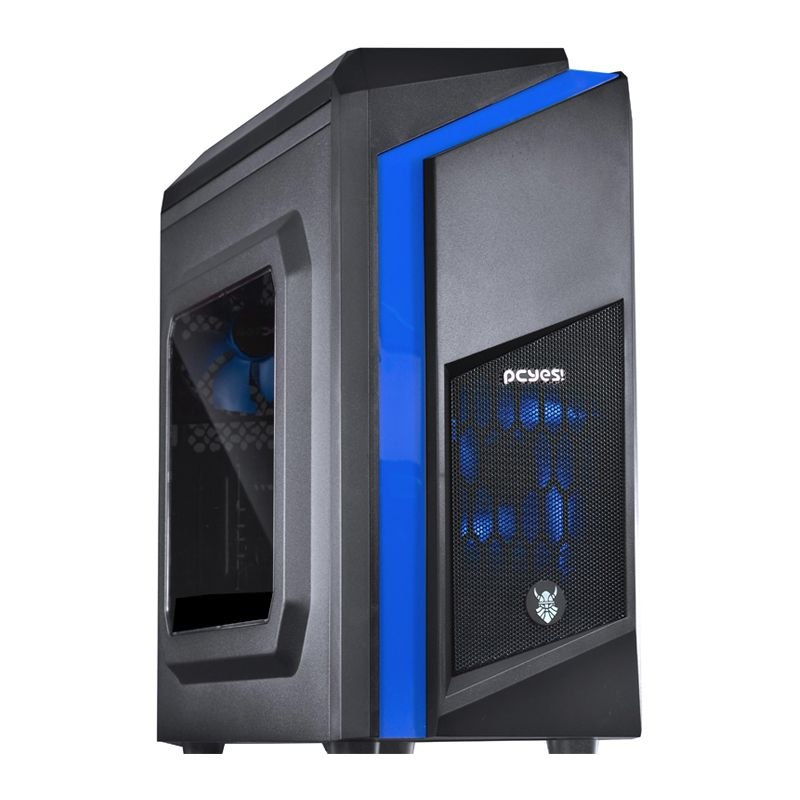 Computador Gamer - Intel Core i5-7400 7° Geração, 8GB Hyper-X DDR4, Placa Mae H110M, HD de 1TB, Placa de Vídeo  RX460 2GB, Fonte 500W Real *
