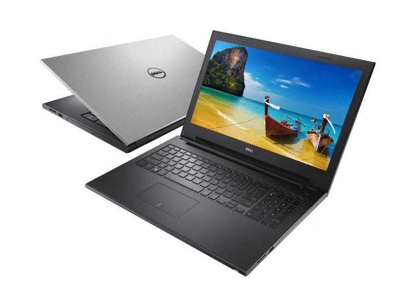 Notebook DELL Inspiron I15-3542 - Intel Core i5, 8GB de Memória, HD 1TB, Placa de vídeo Geforce 2GB, HDMI, Teclado numérico, Tela LED de 15.6 (showroom)