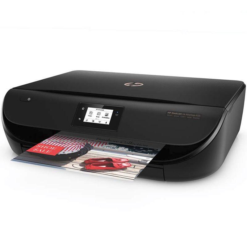 Impressora Multifuncional HP DeskJet Ink Advantage 4536/4535, Wireless, Copiadora, Digitalizadora, USB - 4536 / 4535 *