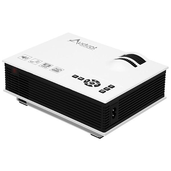 Projetor AUDISAT - LED, 800 Lumens, Full HD, HDMI, USB, VGA  - AU-40 PLUS