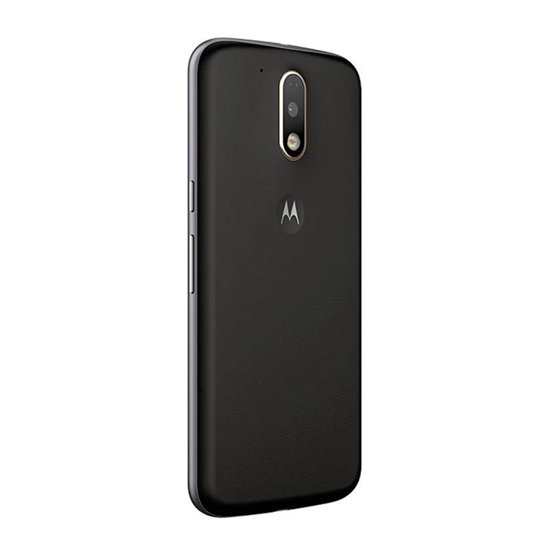 Smartphone Motorola Moto G4 Plus com 32GB, Leitor Biométrico, Câmera de 16MP com Foco Laser e PDAF, Octa Core, Resistente à água, Turbo Carregamento, 4G, Dual Chip - XT1642, Preto *