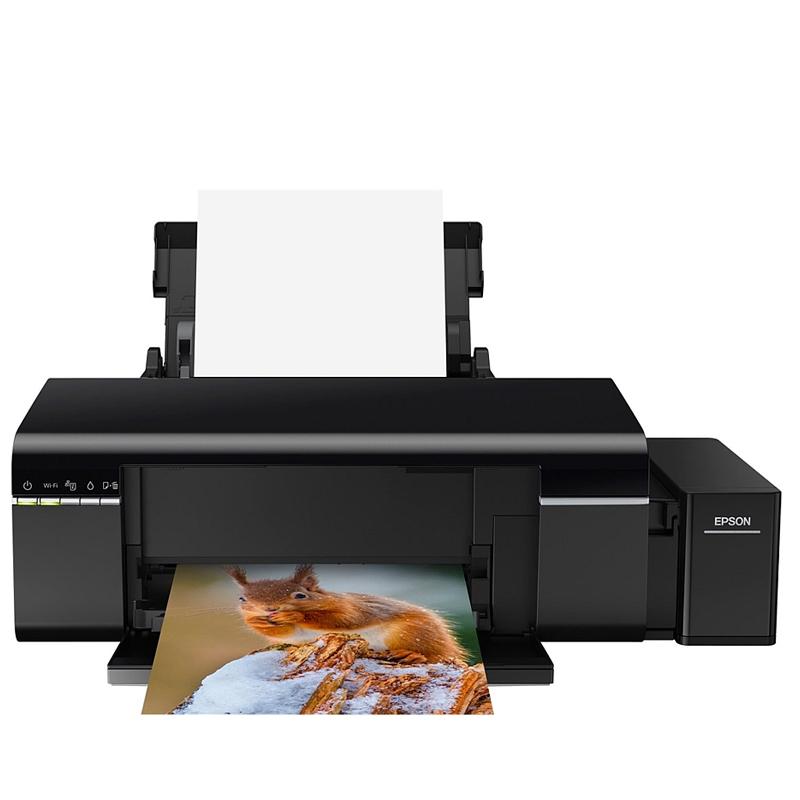 Impressora Epson EcoTank L805 com 6 tanques de tintas fotográficas, wireless, resoluções de até 5760 x 1440 dpi *