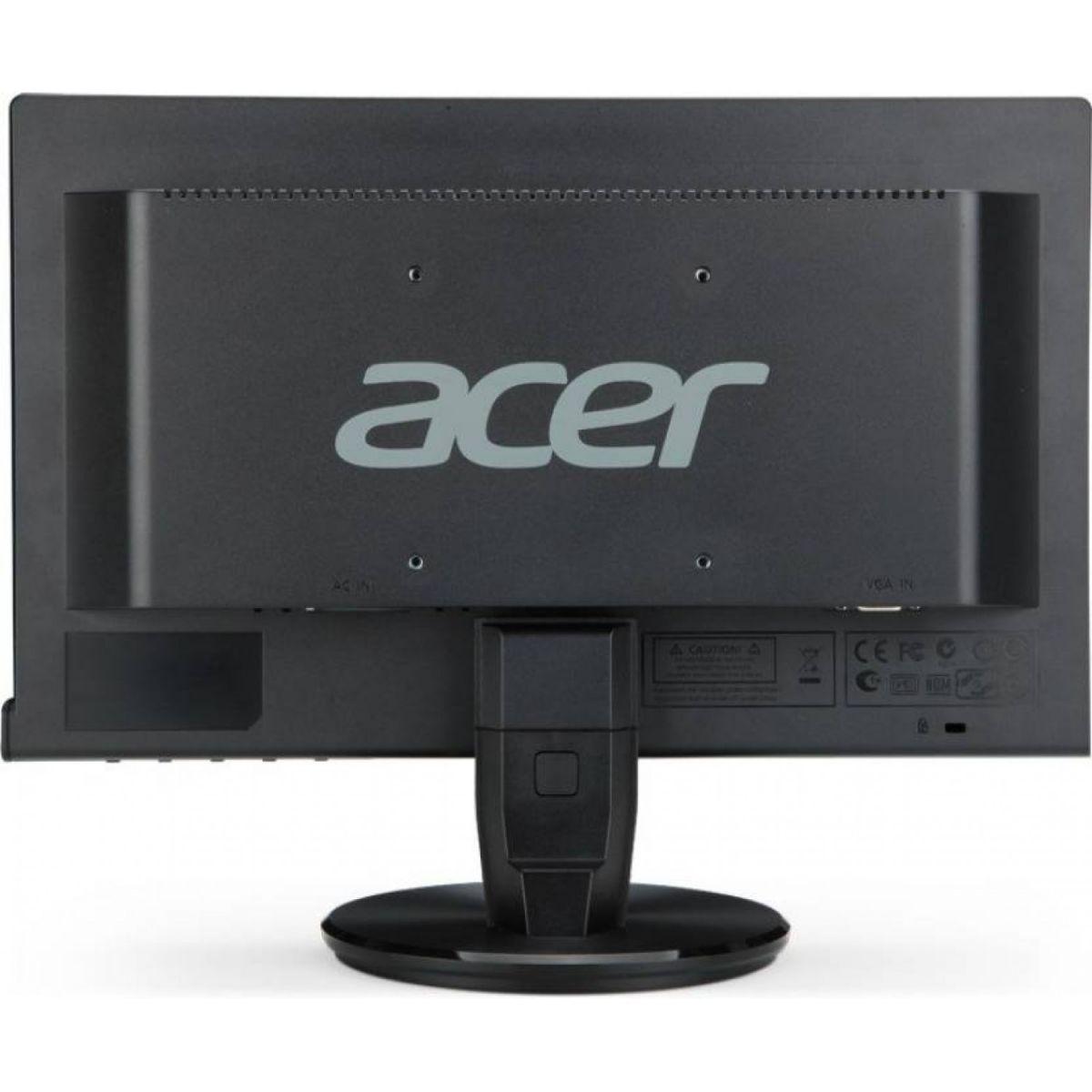 """Monitor Acer com Tela de 15,6"""" HD - P166HQL"""