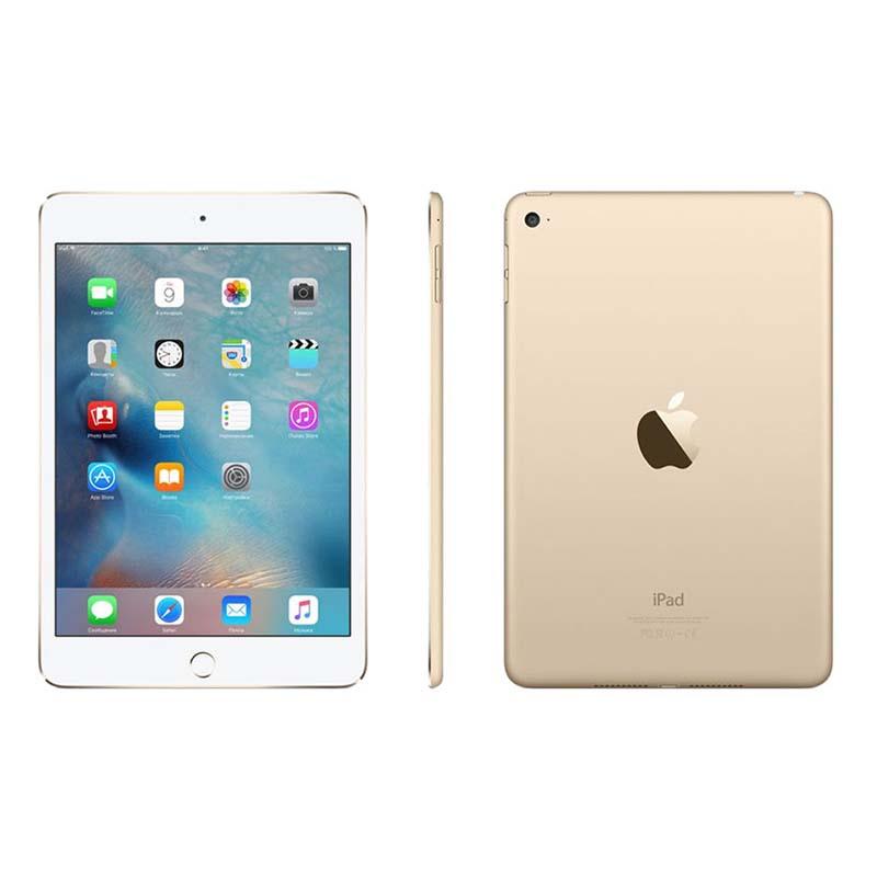 Apple iPad Mini 4 com Touch ID, 16GB de Memória, Wi-Fi, Câmera iSight 8MP, Tela Retina de 7,9'' - MK6L2 - Dourado / Branco *